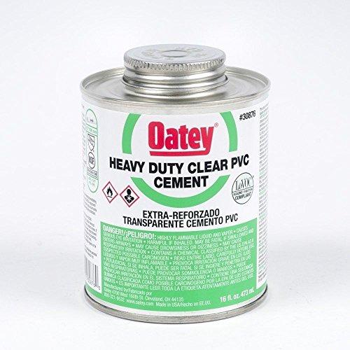 new-oatey-30876-fresh-can-16oz-heavy-duty-clear-pvc-pipe-glue-cement-6386627