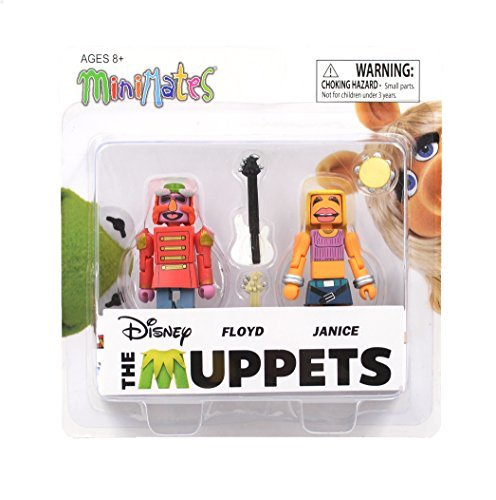 Muppets Minimates Series 3 Floyd & Janice 2-Pack -