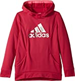 adidas Kids Girl's Performance Hooded Sweatshirt (Big Kids) Dark Pink Medium