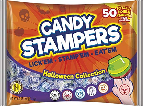 - Assorted Halloween Collection Candy Stampers, 6.69 oz Bag