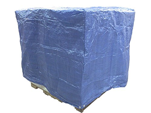 (4 Ft. X 5 Ft. X 4 Ft. Blue Poly Pallet Cover)