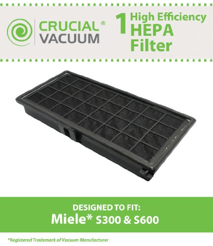 Miele S300 HEPA Filter Designed To Fit Miele S300, S600, ...