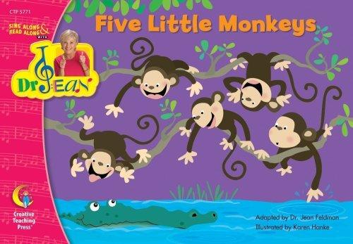 FIVE LITTLE MONKEYS - DR. JEAN LAP BOOK by Ph.D. Jean Feldman (2008-11-21) pdf
