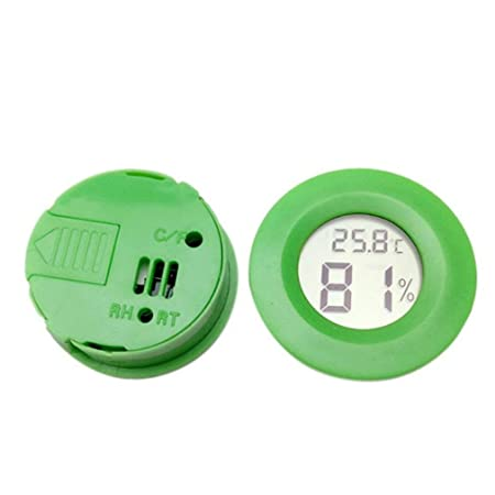 creatspaceE - Mini termómetro Digital higrómetro electrónico ...