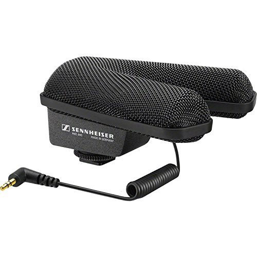 rofessional Stereo Shotgun Microphone, Black (MKE 440) (Sennheiser Shotgun Mic)