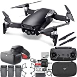 DJI Mavic Air Drone Quadcopter (Onyx Black) + DJI Goggles FPV Headset (Racing Edition) VR FPV POV Experience Ultimate Bundle