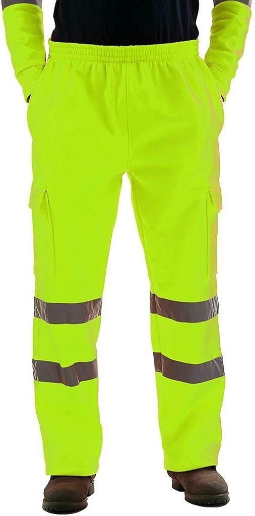 Dainzuy Mens Casual Jogger Sweatpants Gym Slim Fit Trousers Skinny Bandage Sport Loose Drawstring Long Pants