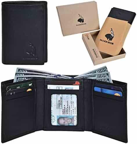 9b0819ba8552 ... Case Car Key Holder Wallet Coin Purse. seller  Mayshe. (0). Genuine  Leather Slim Trifold RFID Blocking Handmade Wallet with 7 Card slots +1ID  Window +