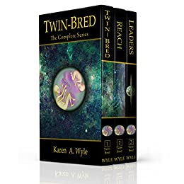 The Twin-Bred Series: Books 1-3 by [Wyle, Karen A.]
