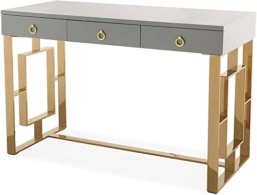 TOV Furniture The Audrey Collection Modern Computer Office Writing Desk