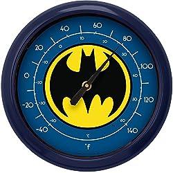 NJ Croce Batman Logo Indoor/Outdoor Thermometer
