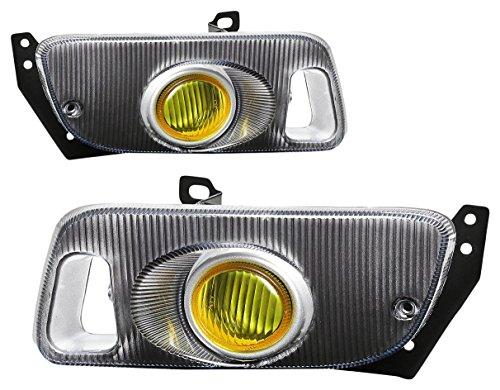 DNA MOTORING FL-HC922-AM Front Bumper Fog Light, Driver and Passenger Side ()