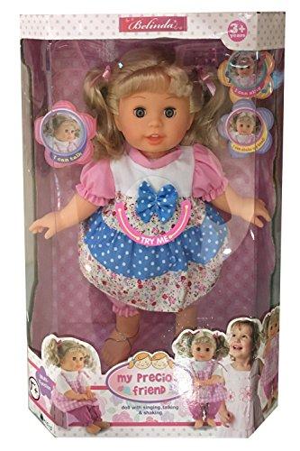 Belinda Singing Blonde Doll 12