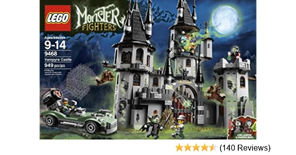 Amazon.com: LEGO Monster Fighters Vampyre Castle 9468 (Discontinued ...