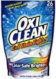 non chlorine bleach laundry - OxiClean 2-in-1 Stain Fighter Power Paks, 26 Count