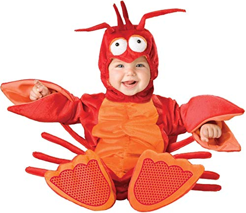 Little Mermaid Character Costumes (Lil' Lobster Infant/Toddler Costume)