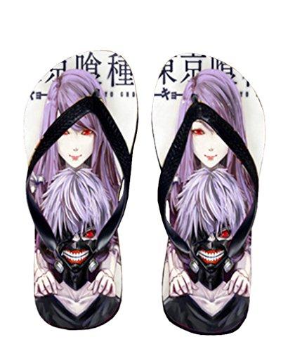 Bromeo Tokyo Ghoul Anime Unisex Flip Flops Chanclas 52
