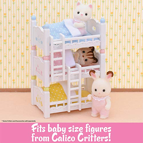 Calico Critters Triple Baby Bunk Beds