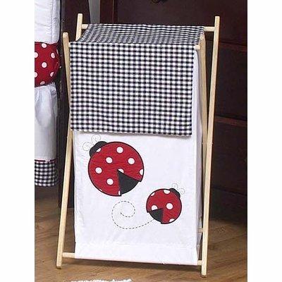 Jojo Designs Ladybug (Sweet Jojo Designs Baby and Kids Clothes Laundry Hamper for for Ladybug Polka Dot Bedding Set)