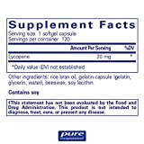 Pure Encapsulations - Lycopene 20 mg - Dietary