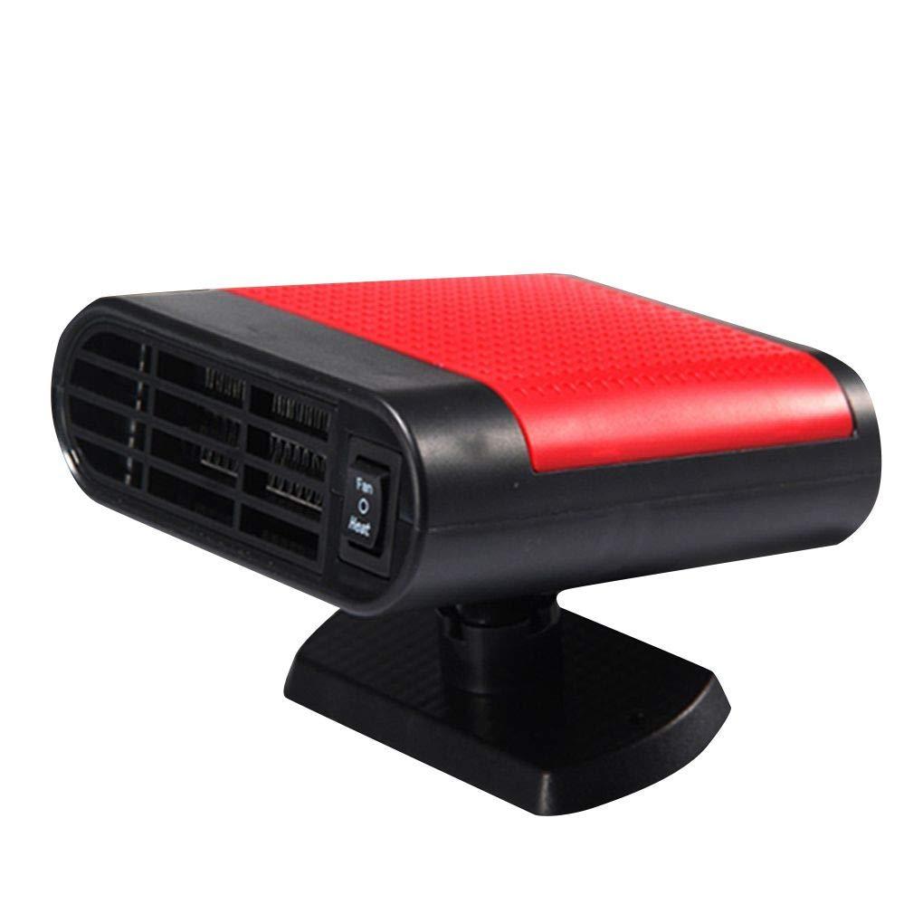 12V Portable Car Heater 360 Degree Rotating Heating Cooling Fan Windshield Defroster Demister Topker