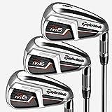TaylorMade Golf M6 Iron Set, 5-PW, SW, Left Hand, Regular Flex Shaft: KBS Max 85