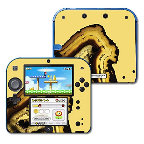 - MightySkins Skin Compatible with Nintendo 2DS - Tiger Agate | Protective, Durable, and Unique Vinyl Decal wrap Cover | Easy to Apply, Remove, and Change Styles | Made in The USA