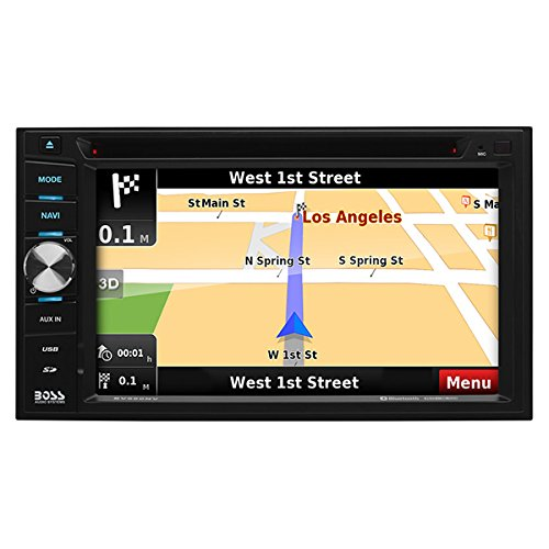 Boss Audio Elite BV960NV DVD MP3 CD Navigation Receiver with Built in Bluetooth
