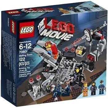 amazon com lego movie 70801 melting room toys games