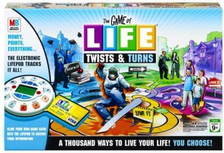 The Game of Life Twists & Turns by Hasbro: Amazon.es: Juguetes y juegos