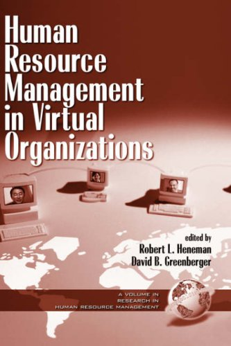 Human Resouce Management in Virtual Organizations (Hc) (Research in Human Resource Management)