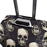 Suitcase Cover Skull Luggage Cover Travel Case Bag