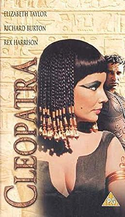 Amazoncom Cleopatra Vhs Elizabeth Taylor Richard Burton Rex