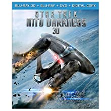 Star Trek Into Darkness (Blu-ray 3D + Blu-ray + DVD + Digital Copy) (2013)