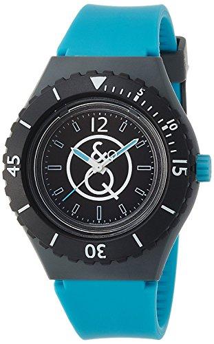 Q & Q SmileSolar watch 20BAR Series Black ~ Blue RP04-003 Men