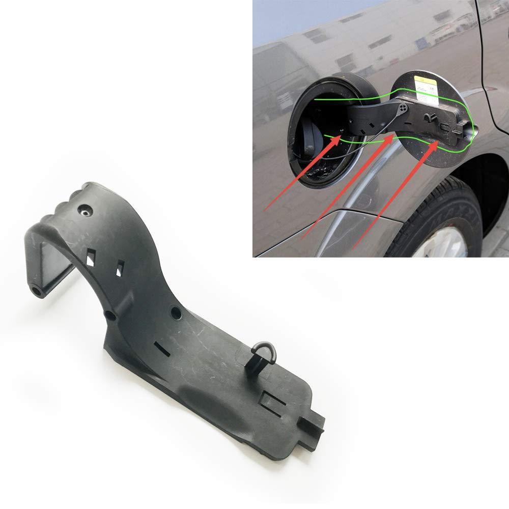 Befestigung Halterung Tankklappe Autozubehör passend für focus 2 mk2 mk3 (Schwarz)