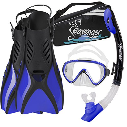Seavenger Advanced Snorkeling Set with Panoramic...