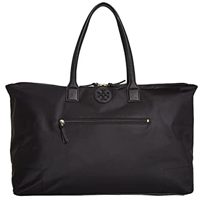 211955f0f7fc Image Unavailable. Image not available for. Color  Tory Burch Ella Handbag  Bag Nylon Packable ...