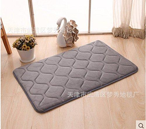 Math Links 8 - JKOPWLXGHWTC Carpet/Carpet/Memory Foam Mat/Bathroom and Kitchen Mats/Water Absorption and Anti-skidding Mat-H 60x20cm(24x8inch)