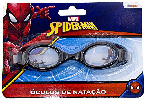 Oculos Natacao Speed Spiderman Etitoys Oculos Natacao Speed Spiderman Estampa Spiderman