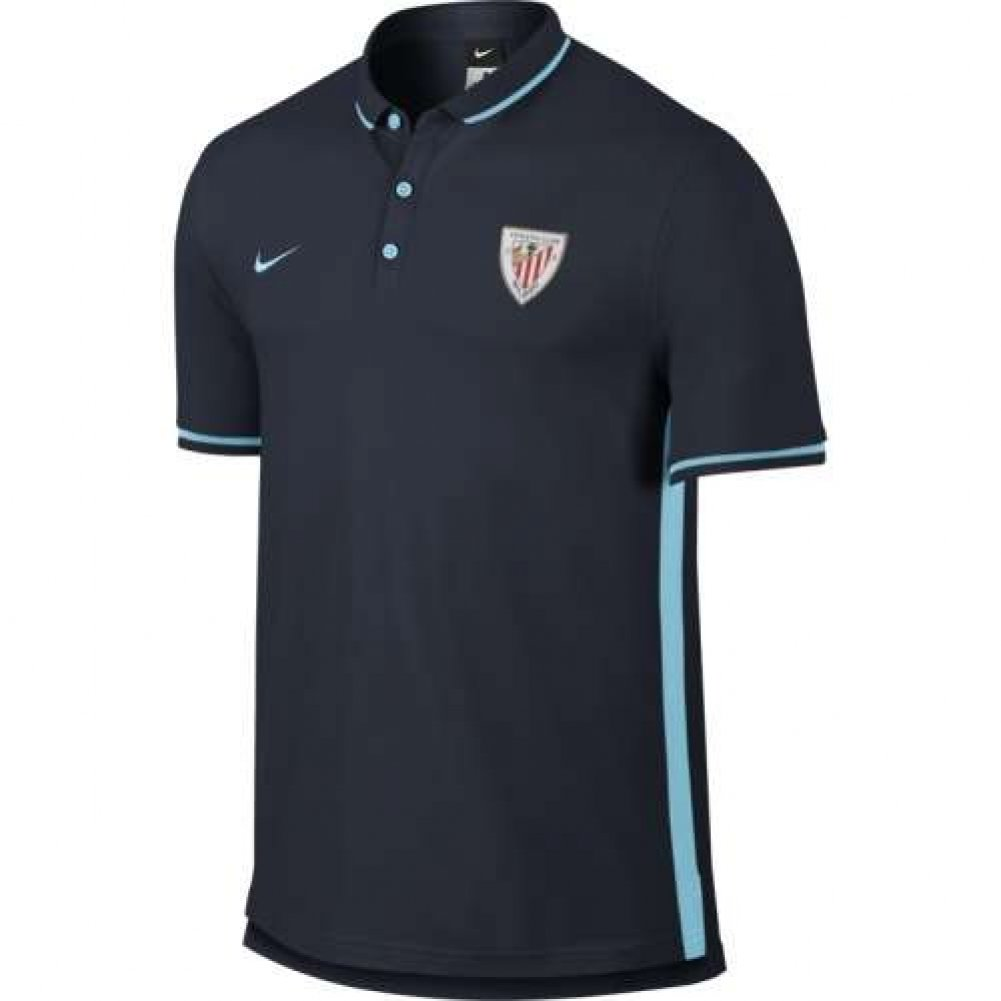2015-2016 Athletic Bilbao Nike Authentic League Polo Shirt (Obsi ...