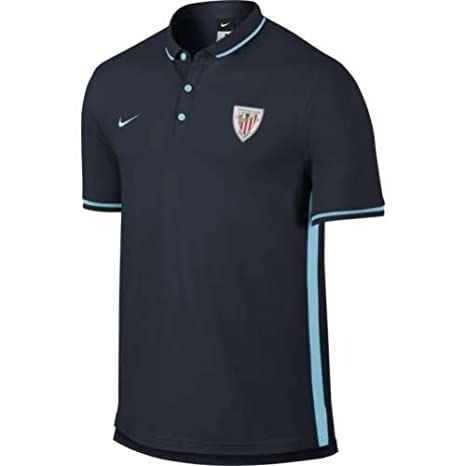 2015-2016 Athletic Bilbao Nike Authentic League Polo Shirt (Obsi ...
