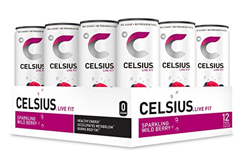 CELSIUS Sparkling Berry Fitness Drink product image