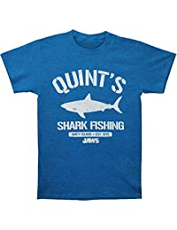 Mens Quints Slim Fit T-Shirt Sea Blue Heather