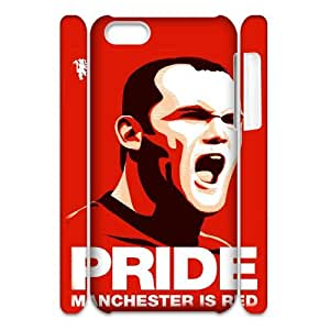 QSWHXN Wayne Rooney Phone 3D Case For Iphone 5C [Pattern-5]