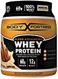 Body Fortress Super Advanced Whey Protein Powder, Cinnamon Swirl, 2 Pound