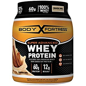 Body Fortress Super Advanced Whey Protein Powder, 2 Pound