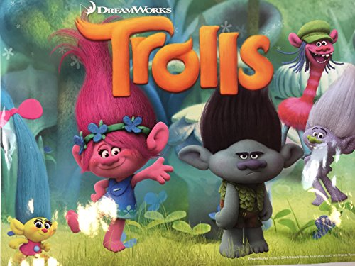 Trolls Poppy and Branch Poster