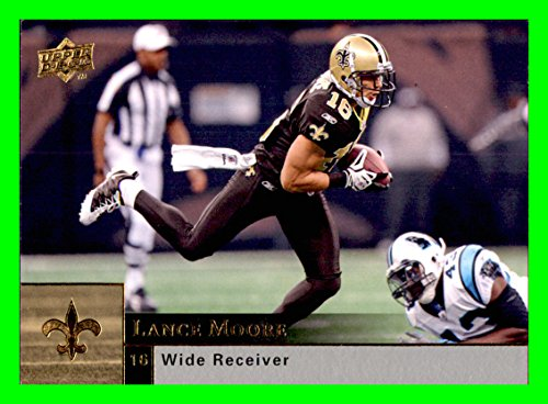 2009 Upper Deck #124 Lance Moore NEW ORLEANS SAINTS TOLEDO