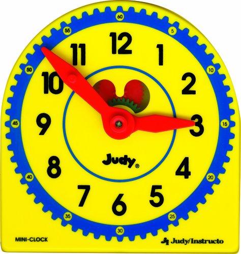 Mini Judy Clocks - Judy Plastic Clock Class Pack